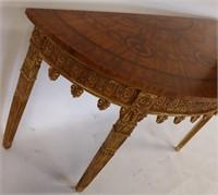 Fine Quality Custom Carved, Gilt Decorated