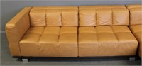 Roche Bobois Leather Upholstered Sectional