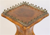 Antique Continental Bronze Mounted Walnut