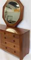 E.J. Stickley Audi Dresser And Mirror
