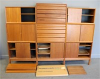 MIDCENTURY. Large Grouping Of Cado Wall