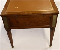 19th Century Leathertop Desk with Side Pull Outs.