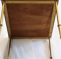 Antique Tri-Part  Gilt Mirrored Coffee Table.
