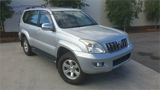 2006 Toyota Landcruiser Prado Kzj120r Gxl Light Commercial for Sale