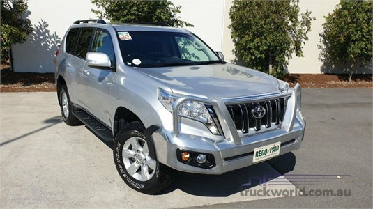 2015 Toyota Landcruiser Prado KDJ150R My14 Gxl - Truckworld.com.au - Light Commercial for Sale