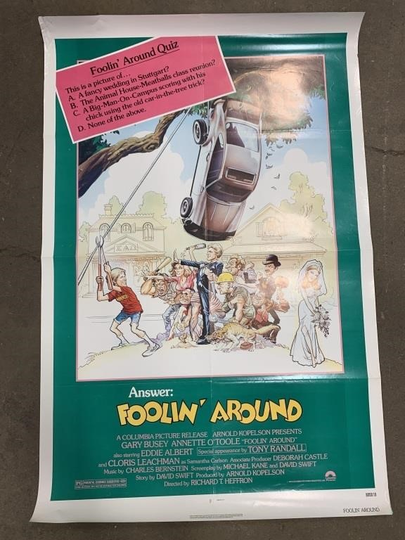 Movie Poster Lot | Coughlin Estate Sales