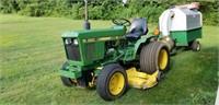 1981 John Deere 650 Utility Tractor, 17hp Diesel