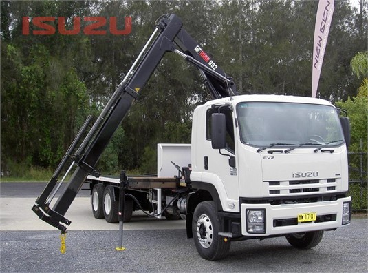 2013 Isuzu FVZ 1400 Long Used Isuzu Trucks - Trucks for Sale