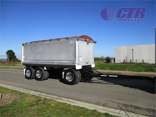 2012 Hamelex White Tipper Trailer CTR Truck Sales - Trailers for Sale