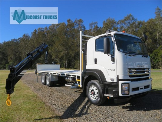2019 Isuzu FXY 240-350 AUTO LWB Midcoast Trucks - Trucks for Sale
