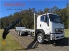 2020 Isuzu FXY 240-350 AUTO LWB Crane Truck