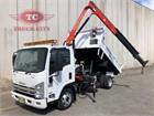 2013 Isuzu NPR 400 Premium Crane Truck