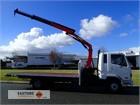 2002 Mitsubishi FK617 Crane Truck