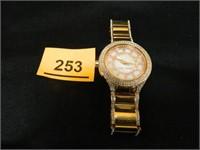 Michael Kors Watch Rose Gold/White Face