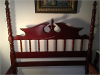 LILLIAN RUSSEL QUEEN SIZED POSTER BED