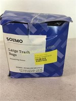 Solimo large trash bags 50 count