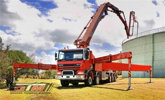DAF FAT CF85 6x4 Hub Reduction Concrete Pumper Rigid Day Cab