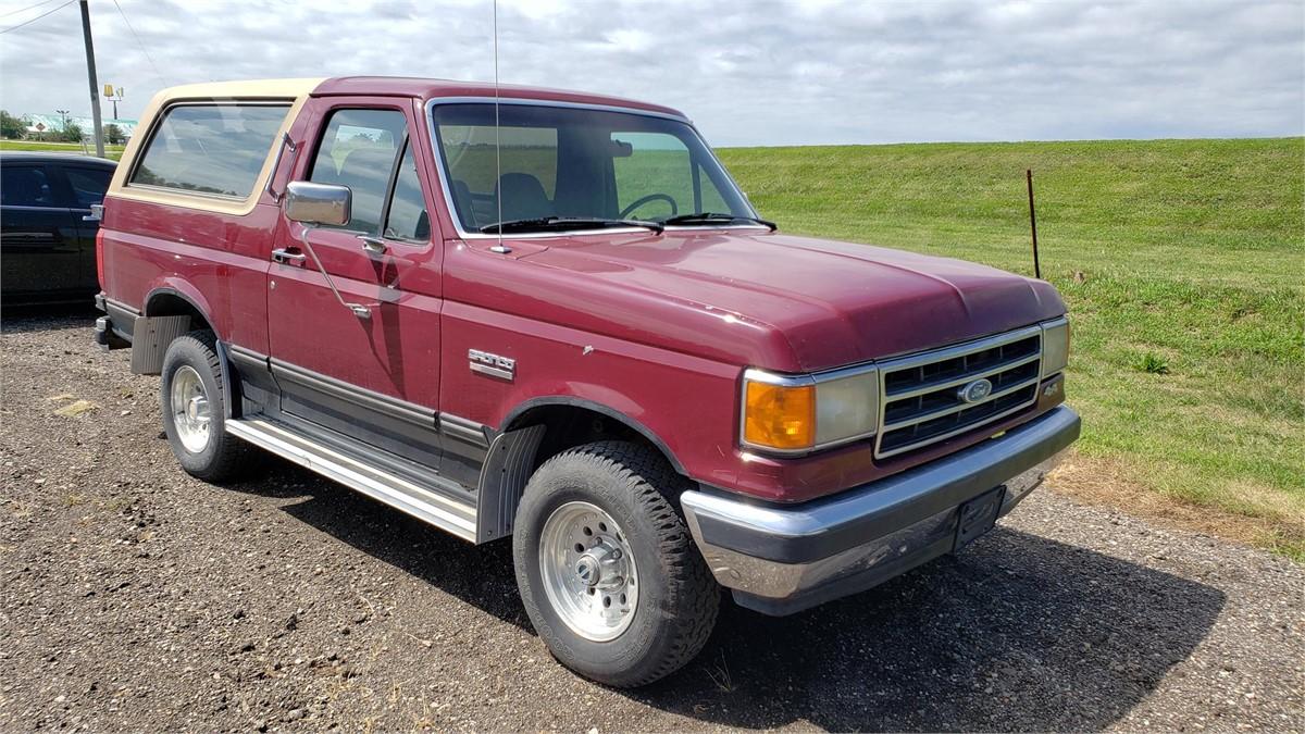 Auctiontime Com 1991 Ford Bronco Online Auctions