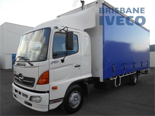 2007 Hino 500 Series 1024 FD Iveco Trucks Brisbane - Trucks for Sale