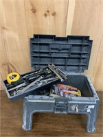 Rubbermaid Tool Caddy Packed with Tools