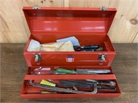 Mastercraft Tool Box with Tools