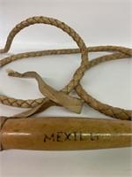 Mexican Leather Bullwhip