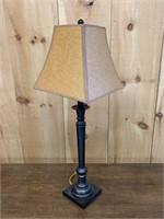 Iron Heavy Table Lamp and Shade