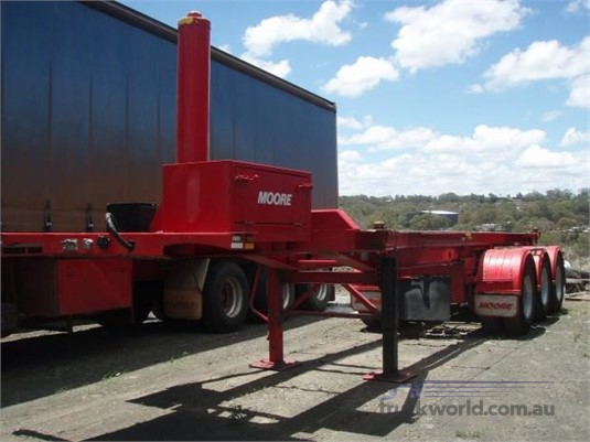 2015 Moore Skeletal Trailer Trailers for Sale