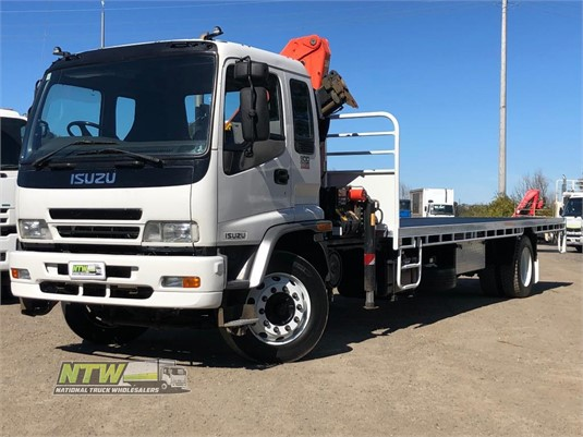 2007 Isuzu FTR900 National Truck Wholesalers Pty Ltd - Trucks for Sale