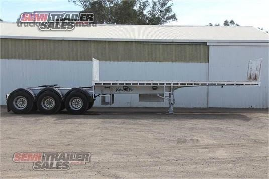2010 Vawdrey Flat Top Trailer Trailers for Sale