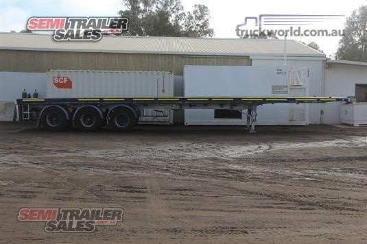 2006 Vawdrey Flat Top Trailer Trailers for Sale