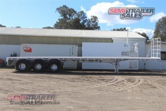 2003 Vawdrey Flat Top Trailer Trailers for Sale
