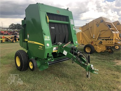 John Deere Round Balers For Sale In Mississippi - 17
