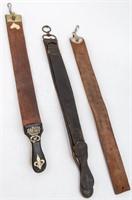 Vintage Collection of 3 Razor Strops