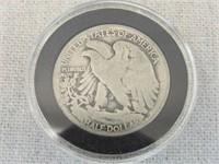 1918 S- Liberty Walking Half Dollar-