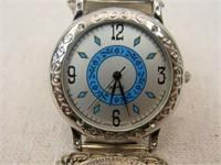 Sterling Silver Buffalo Nickle Watch-