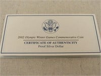 2002 Salt Lake City Winter Games Commem. Coin-