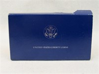 1986 U.S. Liberty Proof Two-Coin Set-