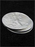 2014 BU Roll of 20 American Silver Eagles-