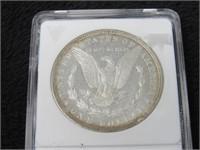 1890-P Morgan Silver Dollar - DMPL-