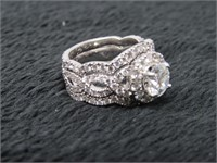 14kt White Gold Neil Lane w/2 Band and Appraisal-