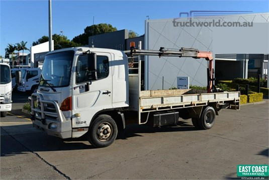 2010 Hino 500 Series 1024 FD Trucks for Sale