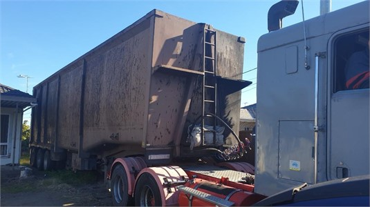 2007 Sams Trailer Scrap Semi Tipper Trailer - Trailers for Sale