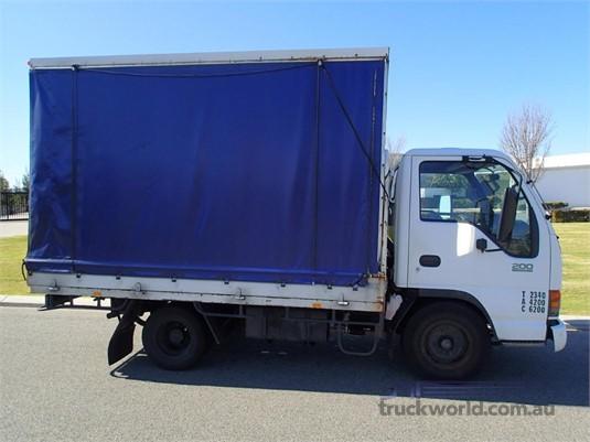 1999 Isuzu NKR 200 Flat Low Trucks for Sale