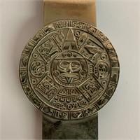 Mexican Zodiac Money Clip