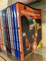 Lot of Hockey Official Guides and Record Books