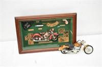 Shadow Box & Motorcycle