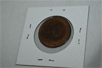 1910 Canadian Large Cent