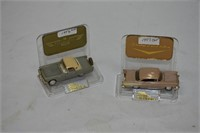 1956 Ford & 1957 Chevrolet Die Cast Cars