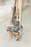 Group of Fishing Rods